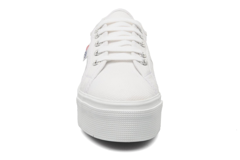 Sneakers Superga 2790 Cot Plato Linea W Hvid se skoene på
