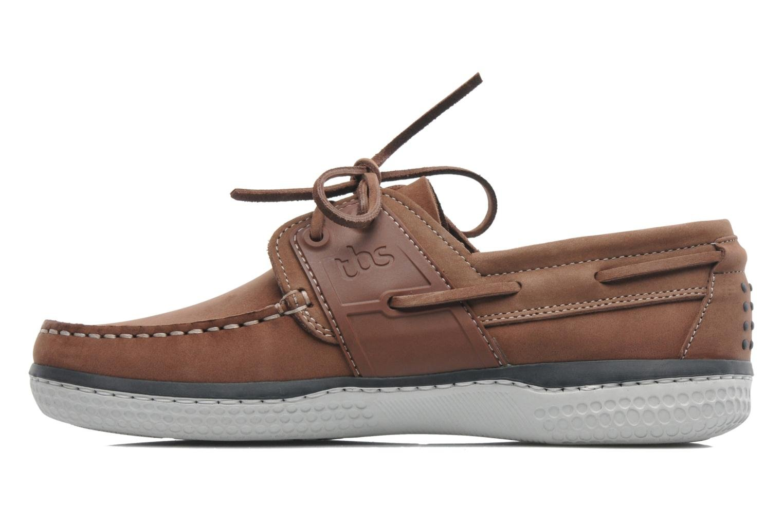 Chaussures à lacets TBS Winchs Marron vue face