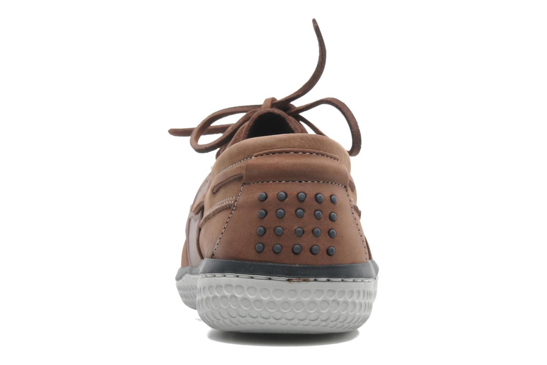 Chaussures à lacets TBS Winchs Marron vue droite