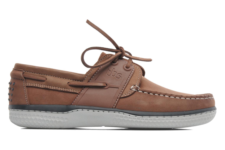 Chaussures à lacets TBS Winchs Marron vue derrière