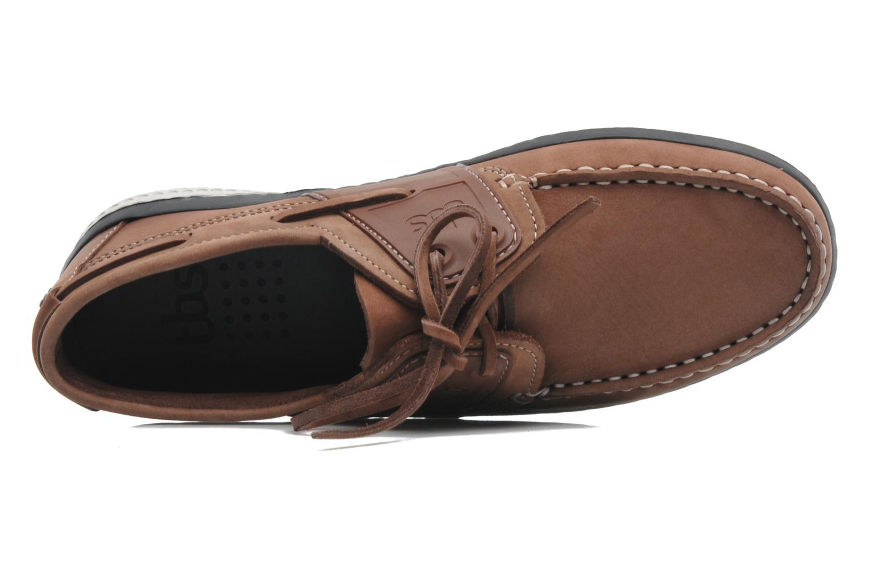 Chaussures à lacets TBS Winchs Marron vue gauche