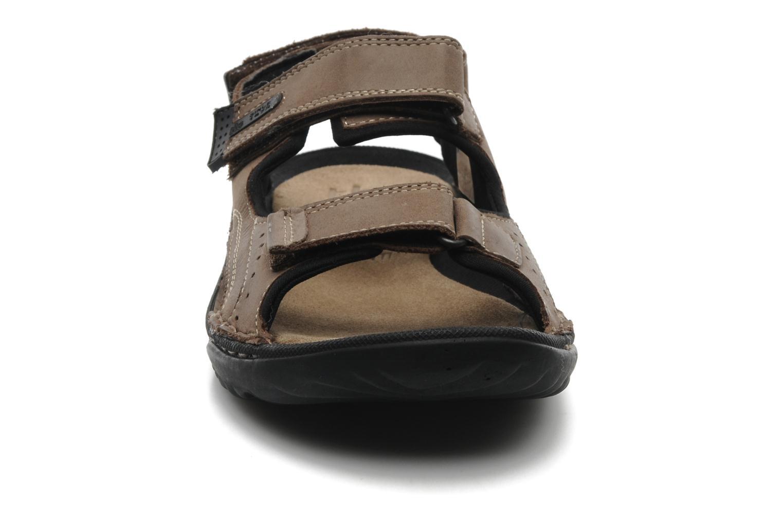 Sandalen TBS Easy Walk Carway braun schuhe getragen