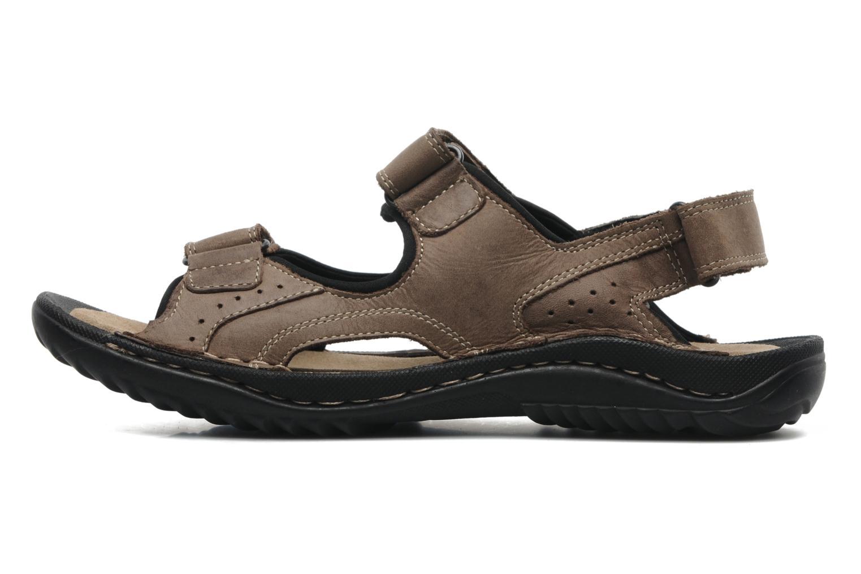 Sandalen TBS Easy Walk Carway braun ansicht von vorne