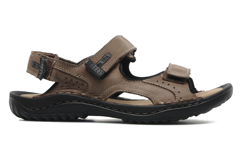 Sandales et nu-pieds TBS Easy Walk Carway Marron vue derrière