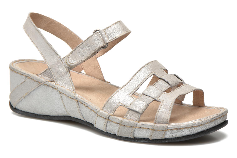 Sandales et nu-pieds TBS Easy Walk Vladia Beige vue détail/paire