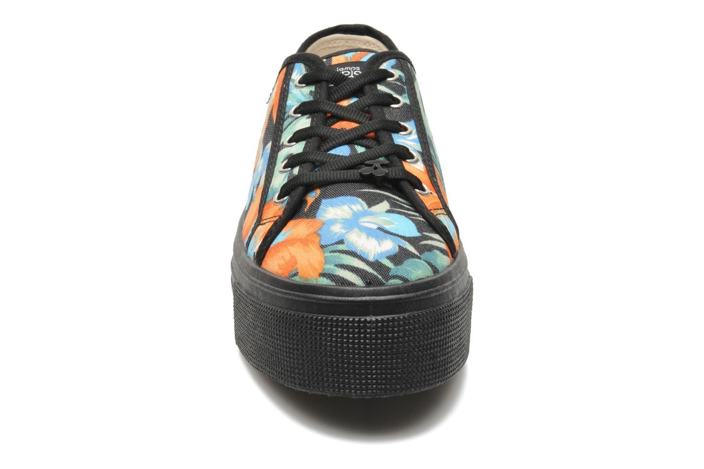 Baskets Le temps des cerises Jump Low Multicolore vue portées chaussures