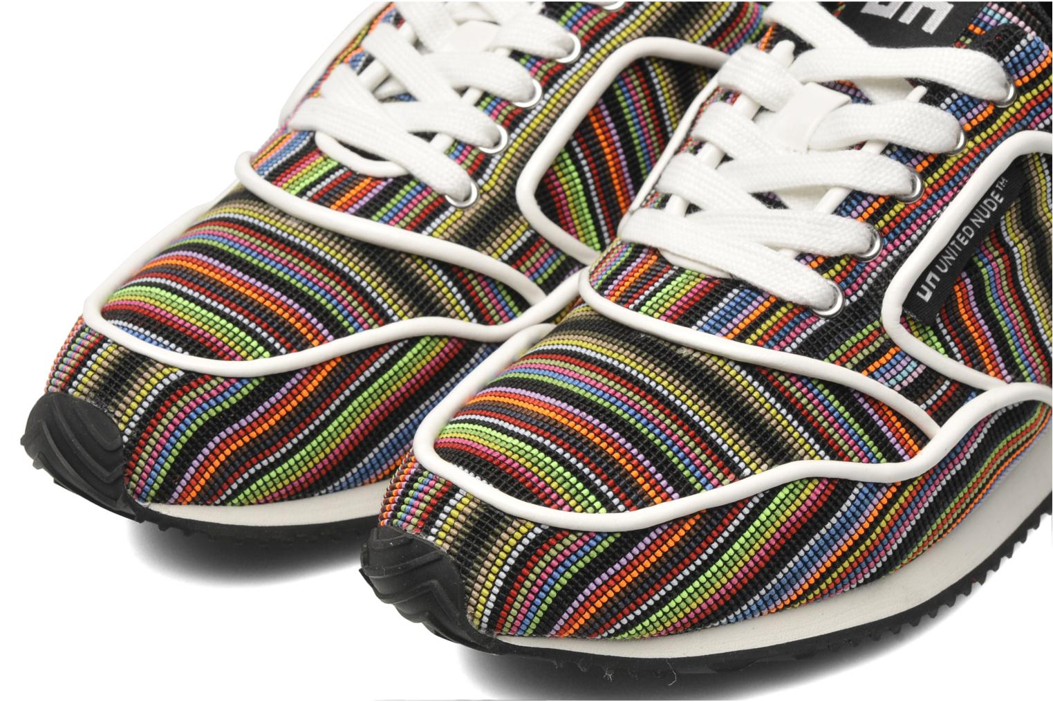 Baskets United Nude Runner Multicolore vue 3/4