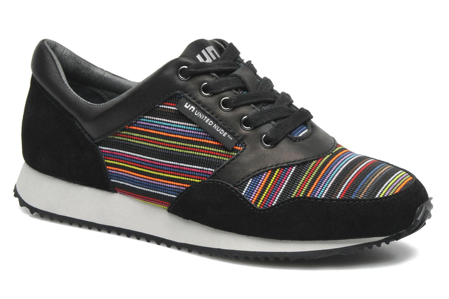 Baskets United Nude Runner Multicolore vue détail/paire