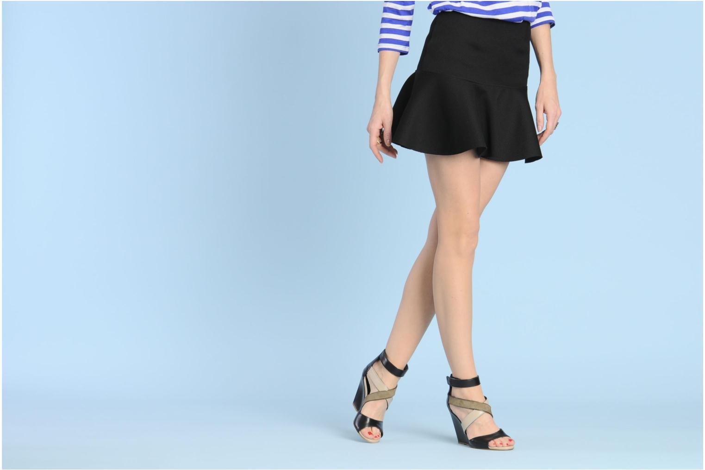 Sandalen Serafini Winter mehrfarbig ansicht von unten / tasche getragen