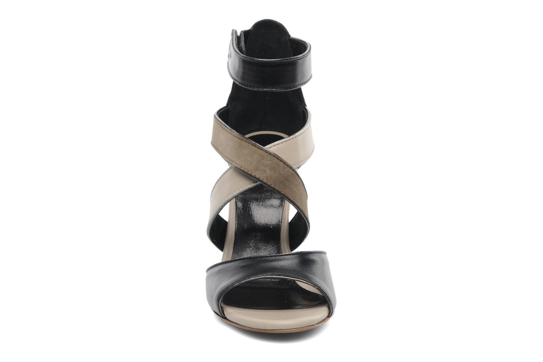 Sandalen Serafini Winter mehrfarbig schuhe getragen