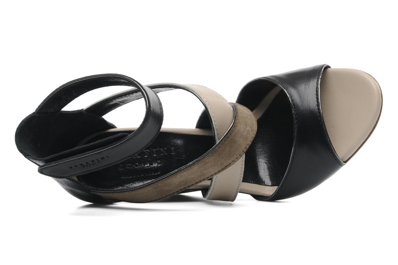 Sandales et nu-pieds Serafini Winter Multicolore vue gauche