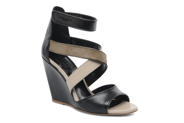 Sandales et nu-pieds Serafini Winter Multicolore vue détail/paire