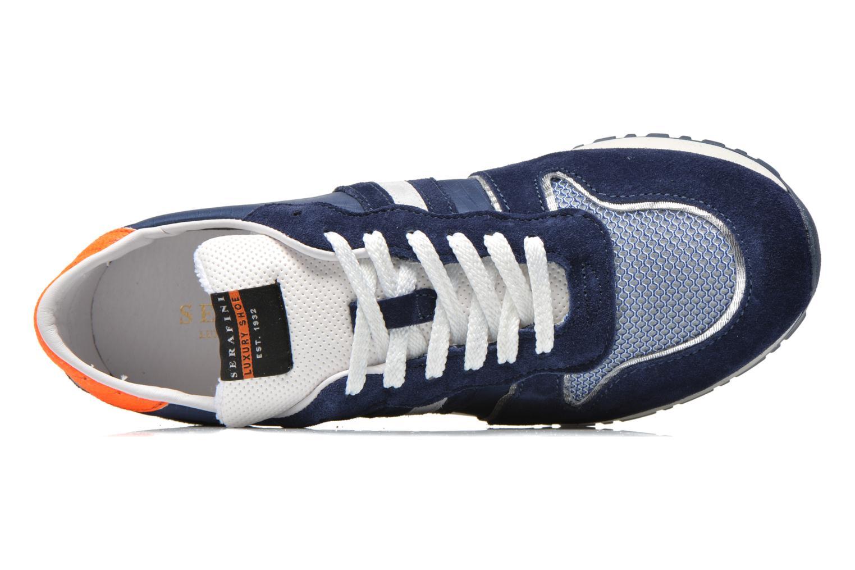 Sneakers Serafini V8 Blå se fra venstre
