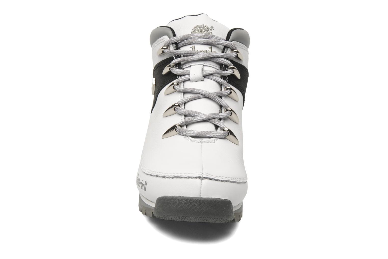 Chaussures à lacets Timberland Euro Sprint Hiker Blanc vue portées chaussures