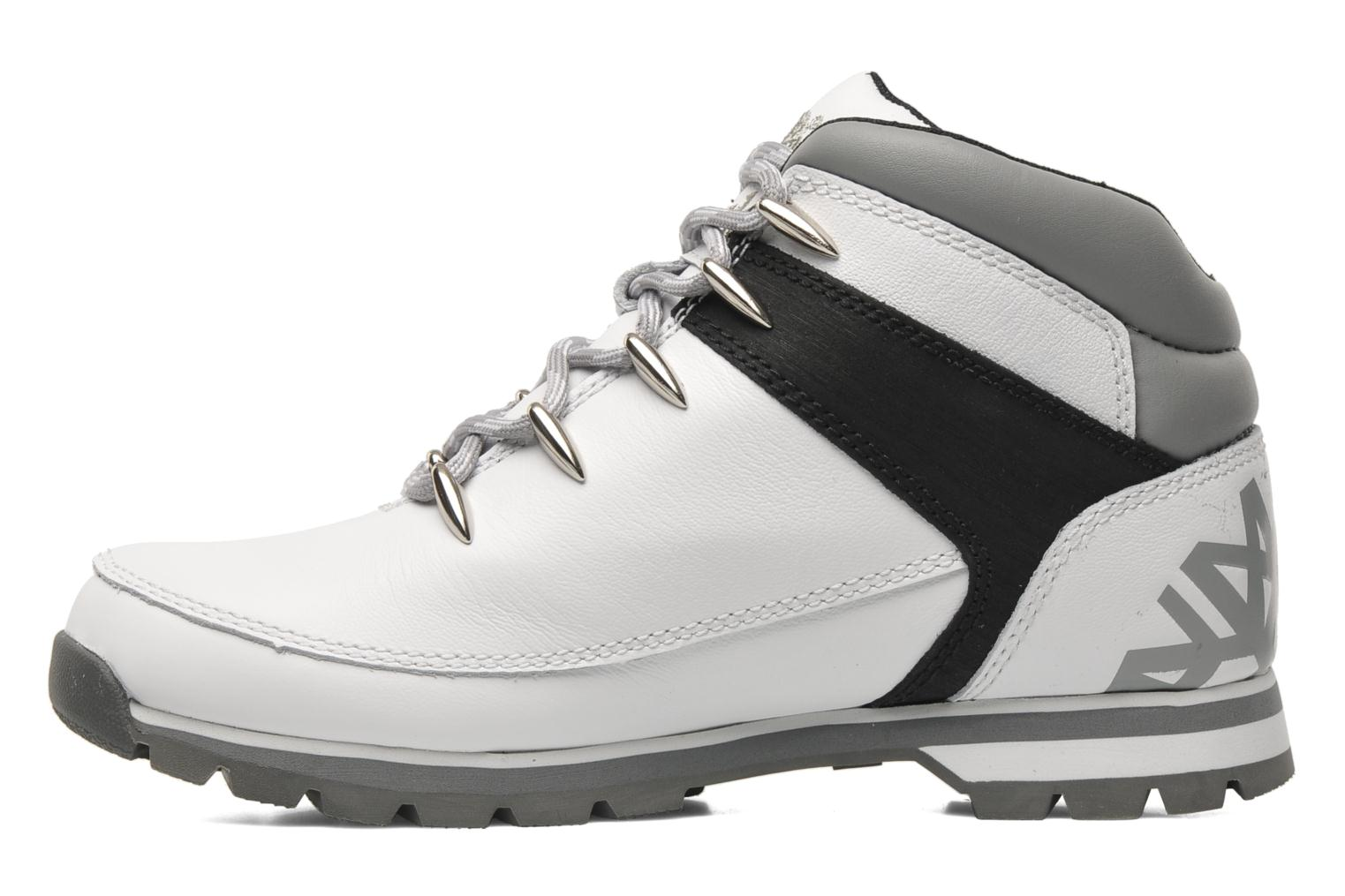 Chaussures à lacets Timberland Euro Sprint Hiker Blanc vue face