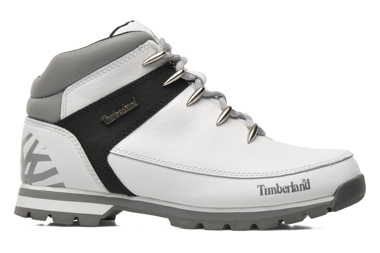 Chaussures à lacets Timberland Euro Sprint Hiker Blanc vue derrière
