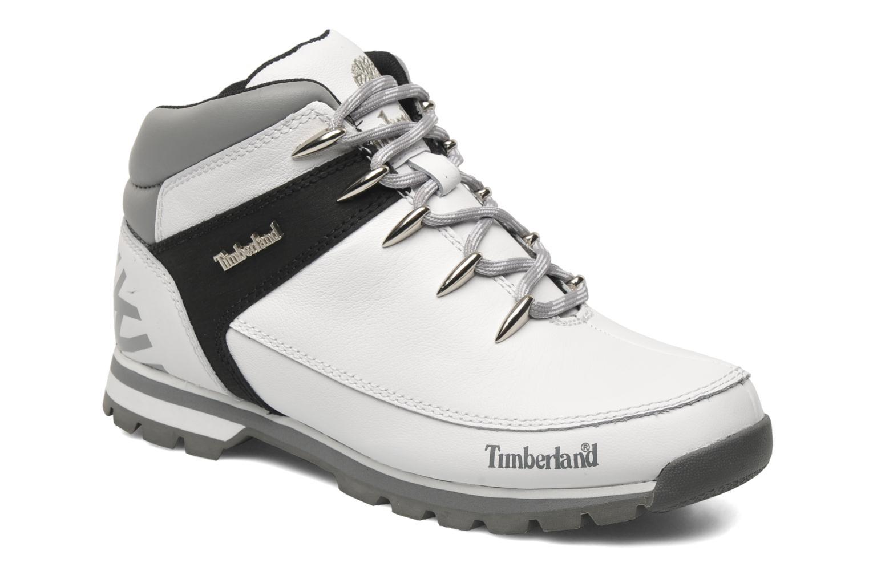 Chaussures à lacets Timberland Euro Sprint Hiker Blanc vue détail/paire