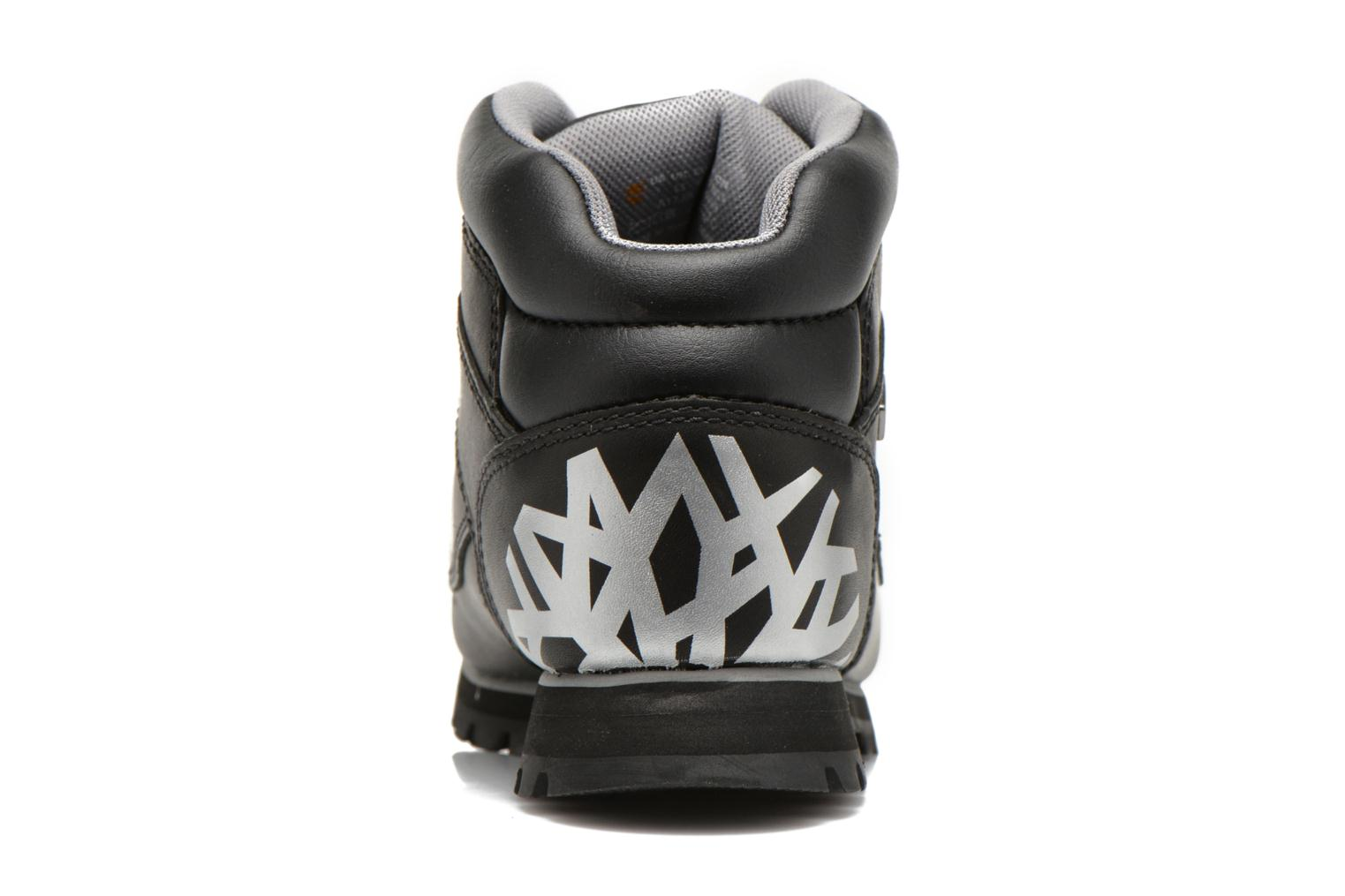 Lace-up shoes Timberland Euro Sprint Hiker Black view from the right