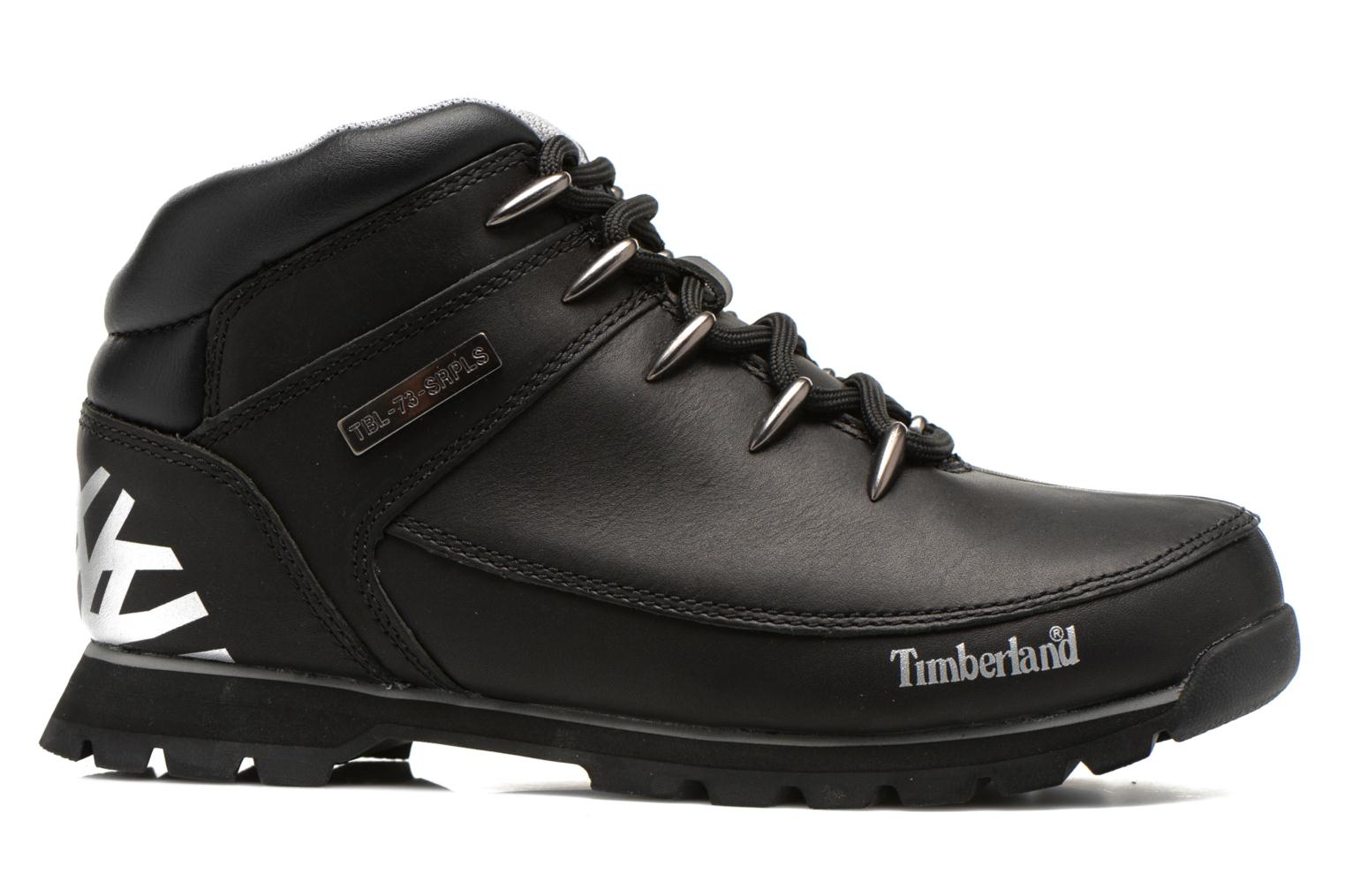 Lace-up shoes Timberland Euro Sprint Hiker Black back view