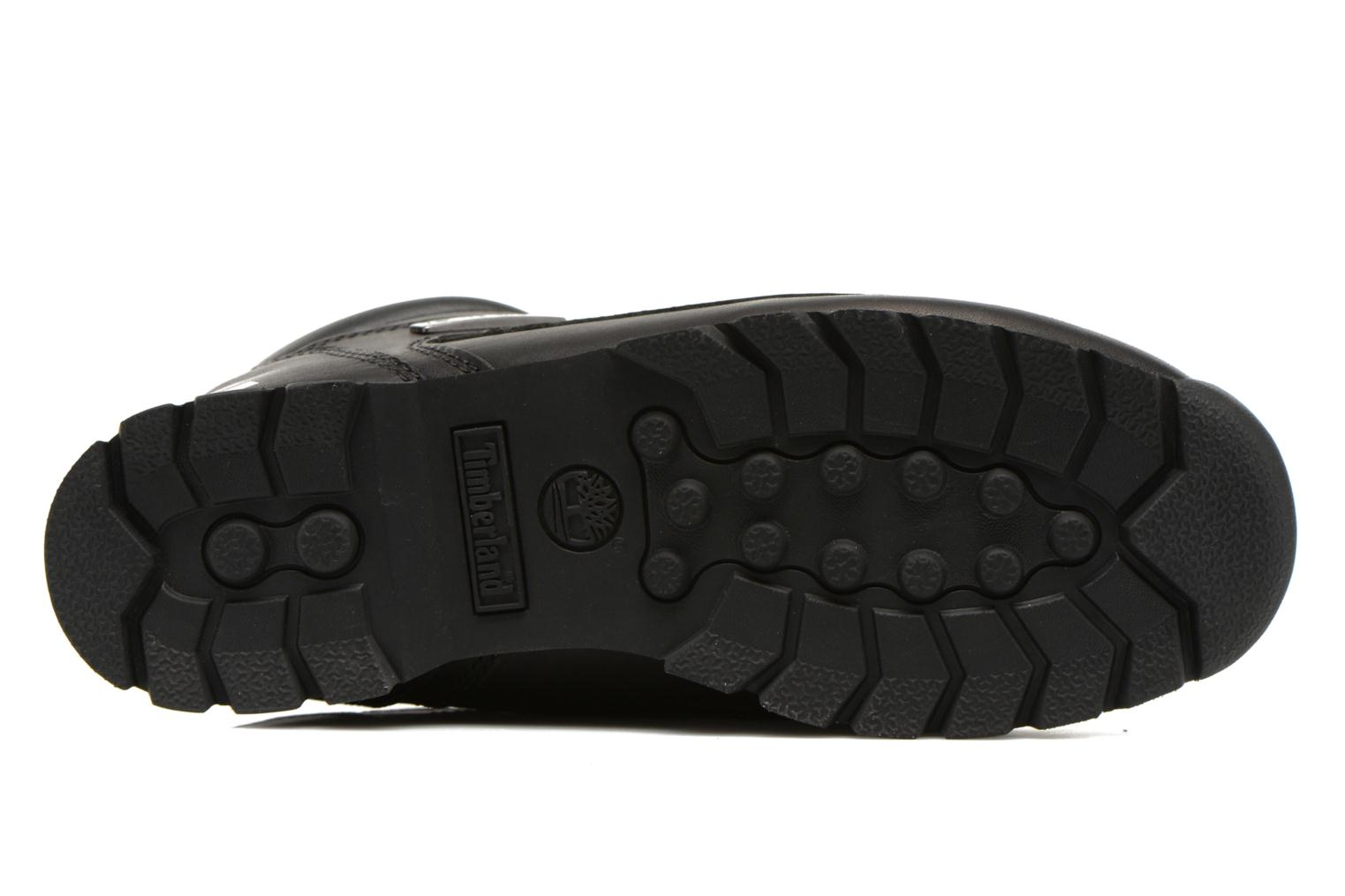 Lace-up shoes Timberland Euro Sprint Hiker Black view from above