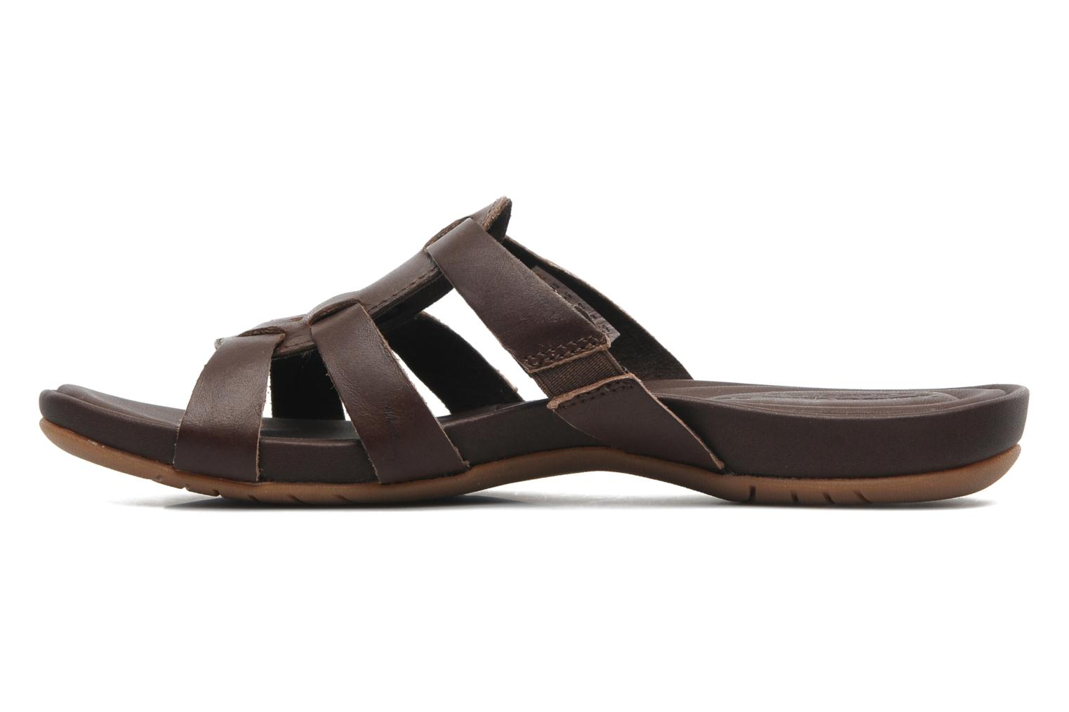 Mules et sabots Timberland Earthkeepers Pleasant Bay Slide Marron vue face