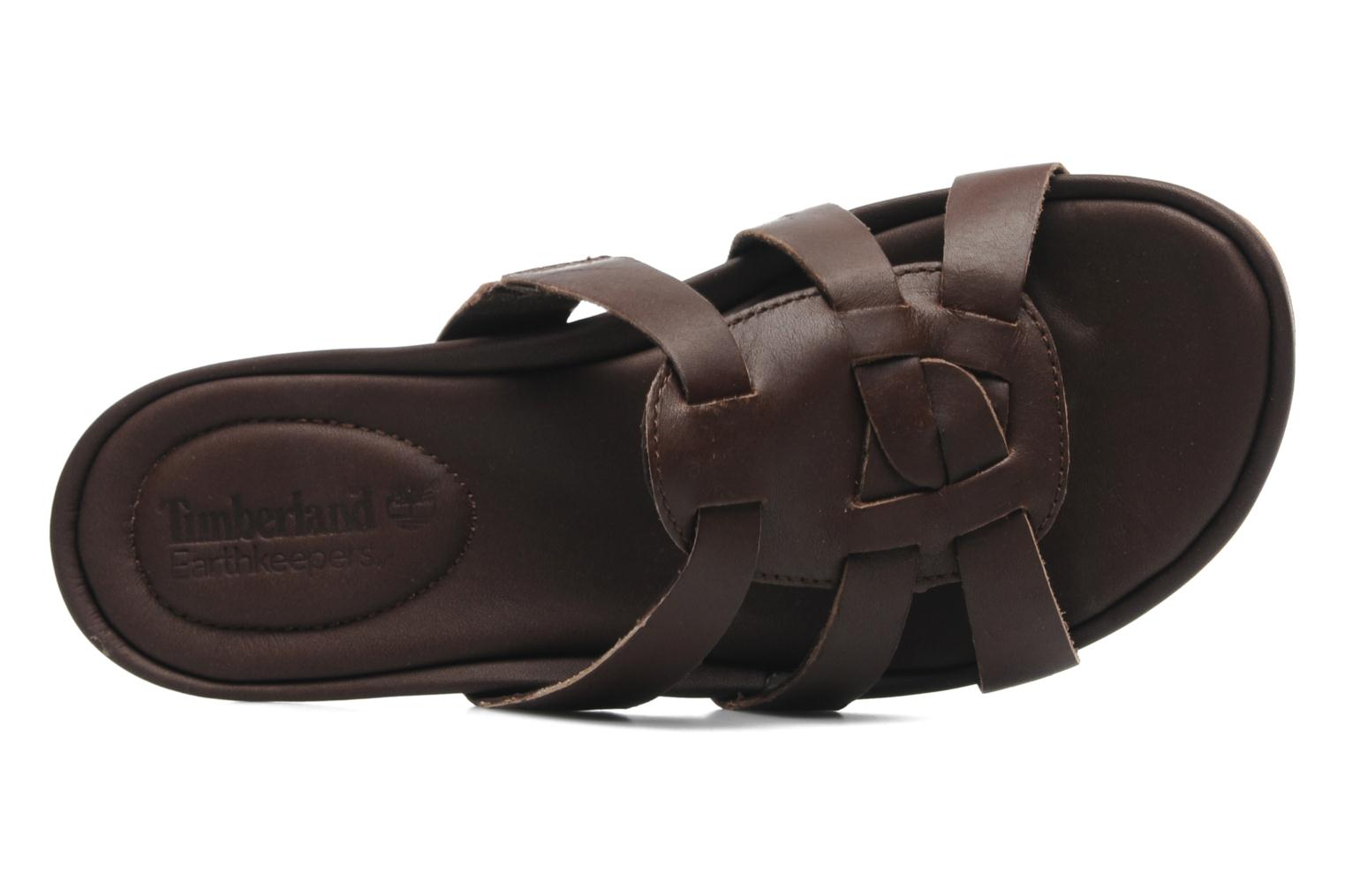 Mules et sabots Timberland Earthkeepers Pleasant Bay Slide Marron vue gauche