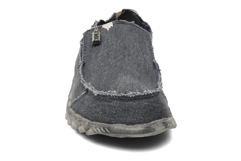 Slipper DUDE Farty Classic blau schuhe getragen