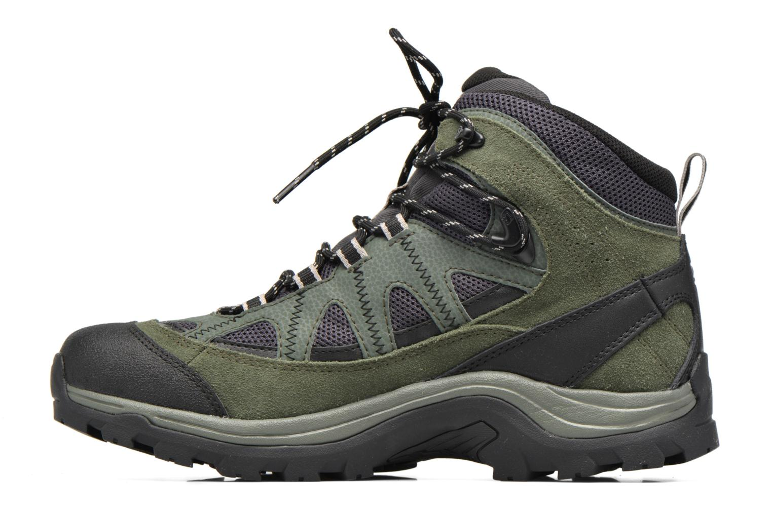 Sportschoenen Salomon Authentic LTR GTX Groen voorkant