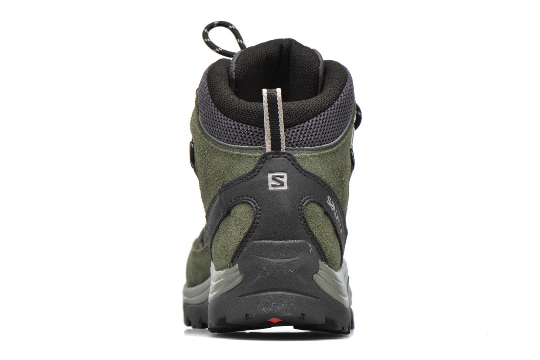 Zapatillas de deporte Salomon Authentic LTR GTX Verde vista lateral derecha