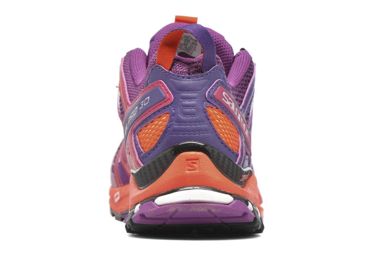 Chaussures de sport Salomon XA Pro 3D W Violet vue droite