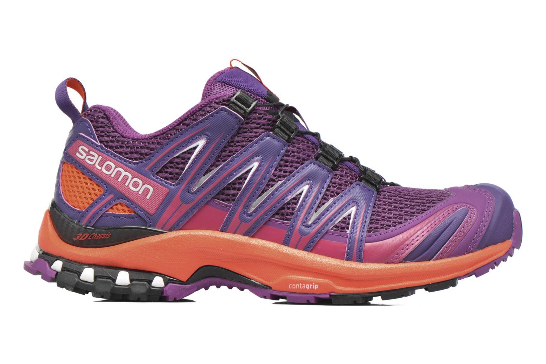 Chaussures de sport Salomon XA Pro 3D W Violet vue derrière