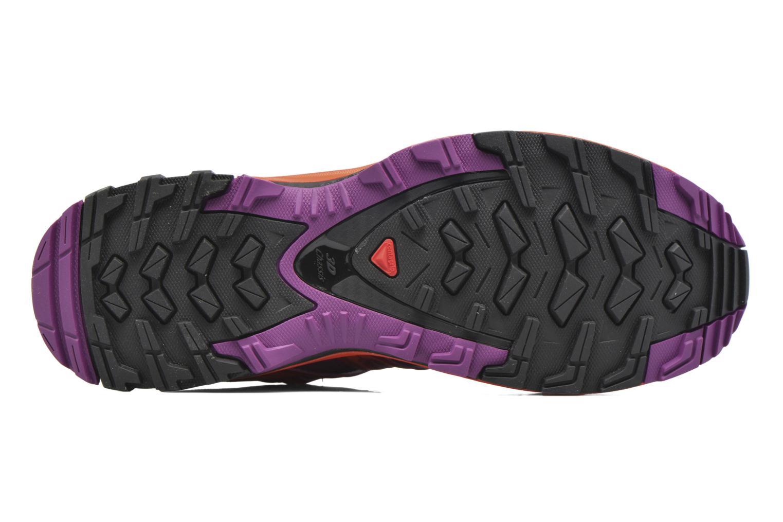 Chaussures de sport Salomon XA Pro 3D W Violet vue haut