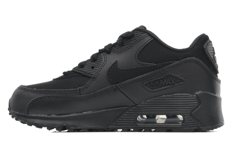 Sneaker Nike Air Max 90 (Ps) schwarz ansicht von vorne