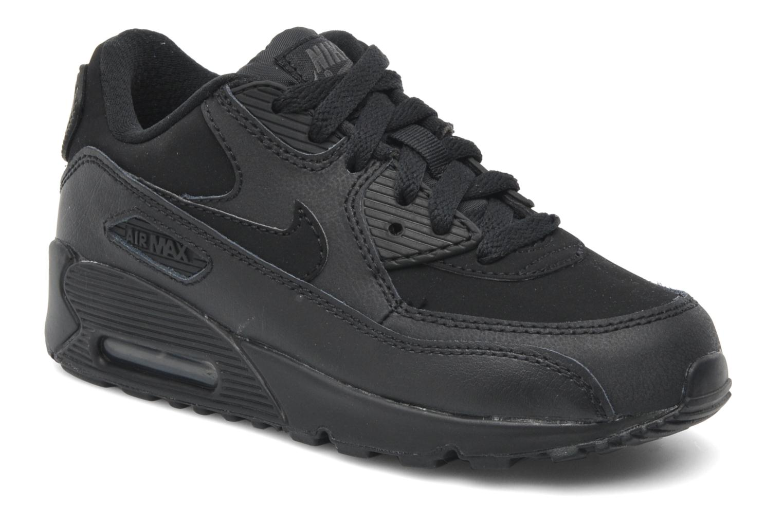 Sneaker Nike Air Max 90 (Ps) schwarz detaillierte ansicht/modell