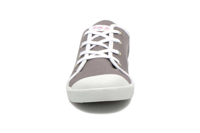Sneaker Little Marcel Samba Uni grau schuhe getragen