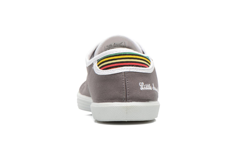 Sneaker Little Marcel Samba Uni grau ansicht von rechts