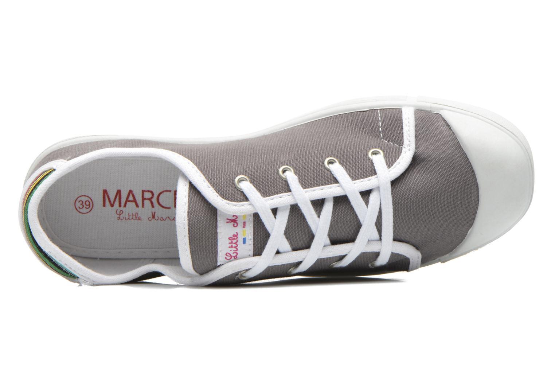 Sneaker Little Marcel Samba Uni grau ansicht von links