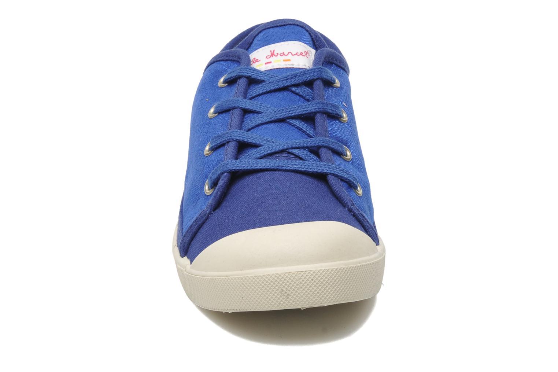 Sneaker Little Marcel Samba Glit blau schuhe getragen