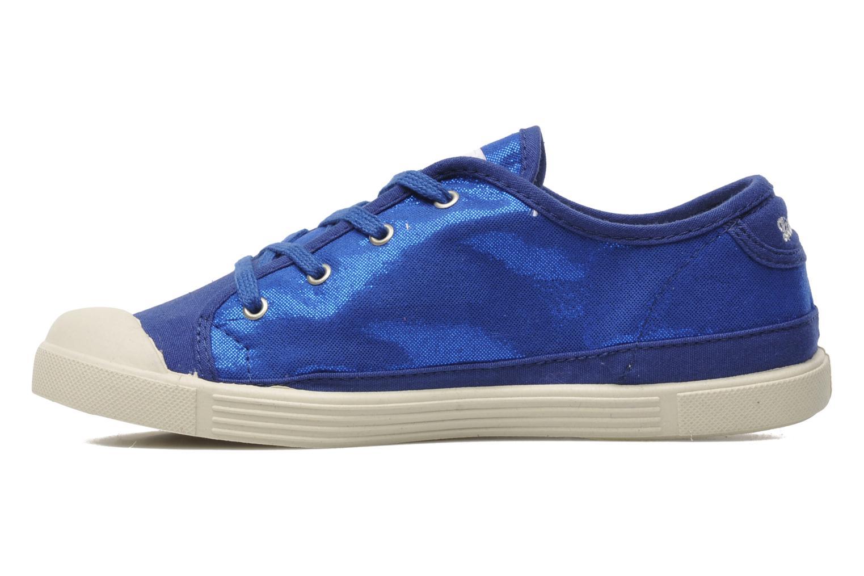 Sneaker Little Marcel Samba Glit blau ansicht von vorne