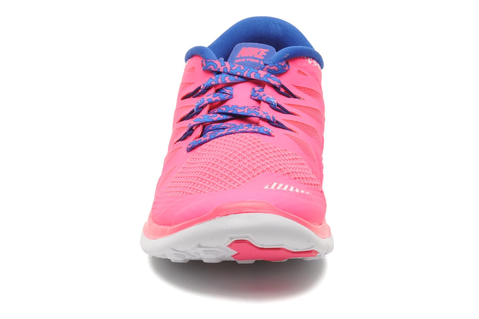 Sneakers Nike NIKE FREE 5.0 (GS) Roze model