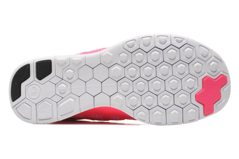 Sneaker Nike NIKE FREE 5.0 (GS) rosa ansicht von oben