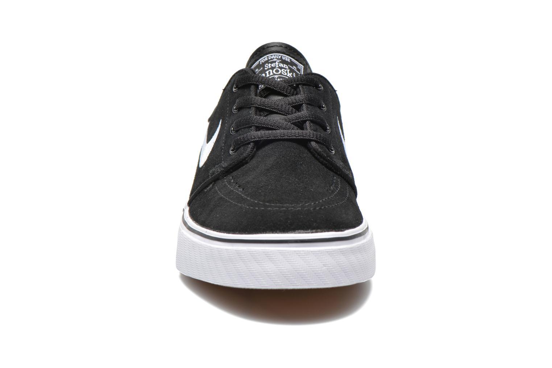 Baskets Nike Stefan Janoski (GS) Noir vue portées chaussures