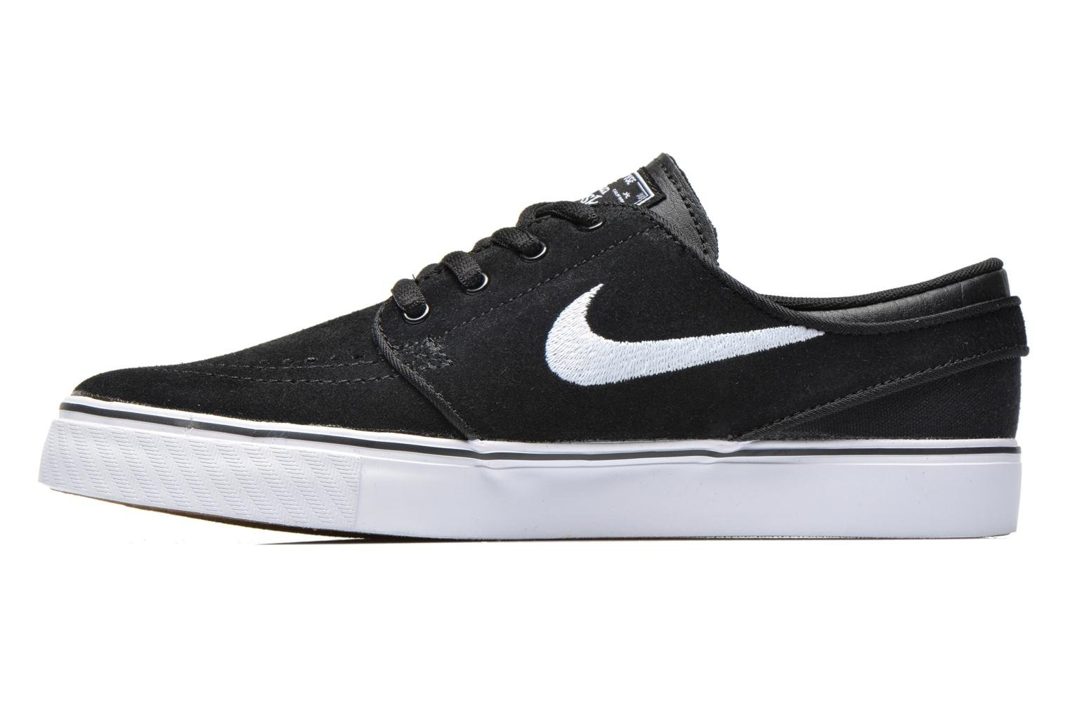 Stefan Janoski (GS) Black White-Gum Med Brown