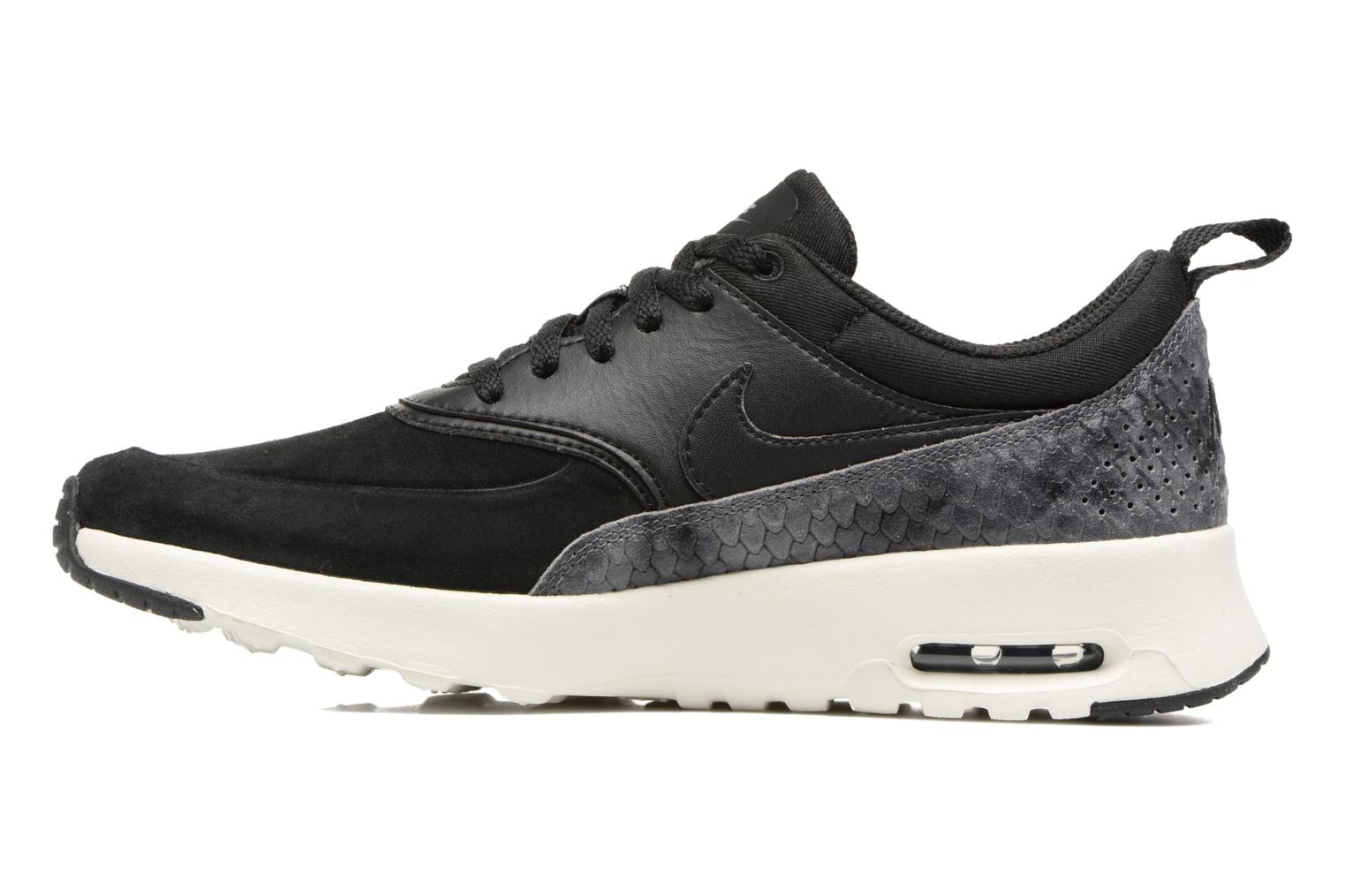 Trainers Nike Wmns Nike Air Max Thea Prm Black front view