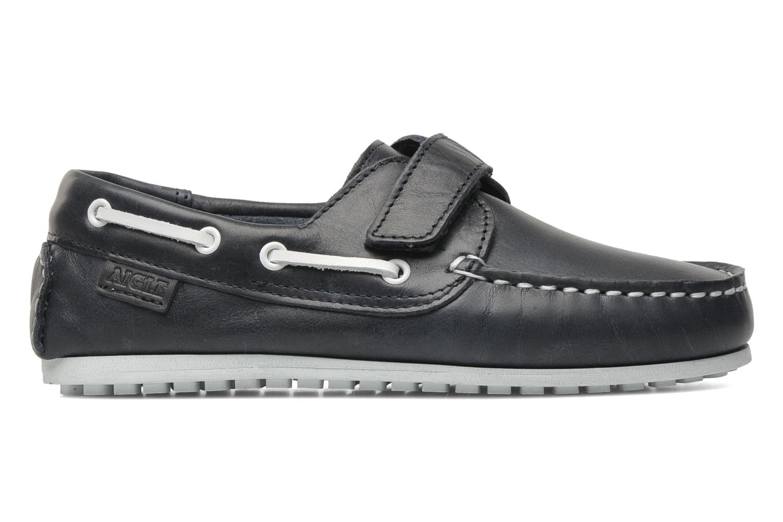 Chaussures à scratch Aigle LONGLAKE KIDS Bleu vue derrière