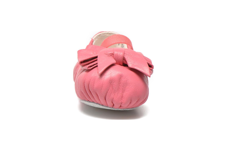 Ballerines Bloch BABY AYVA Rose vue portées chaussures