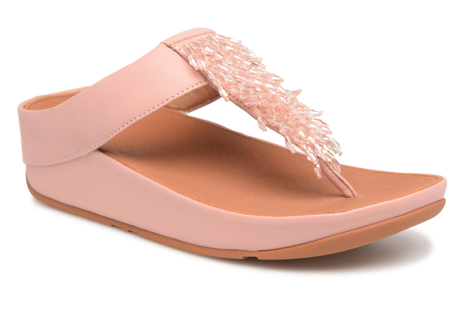 Marques Chaussure femme FitFlop femme Cha Cha Crystal Dusty Pink