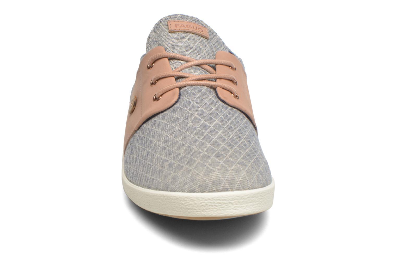 Baskets Faguo Cypress Gris vue portées chaussures
