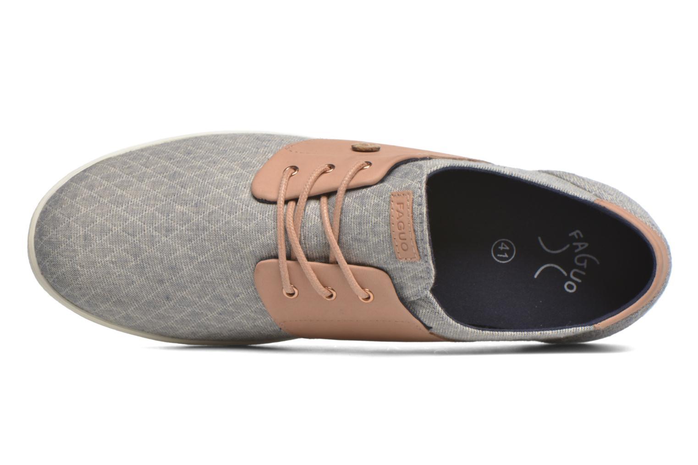 Sneaker Faguo Cypress grau ansicht von links