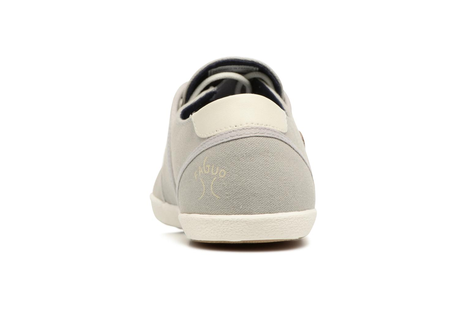 Trainers Faguo Cypress Grey view from the right